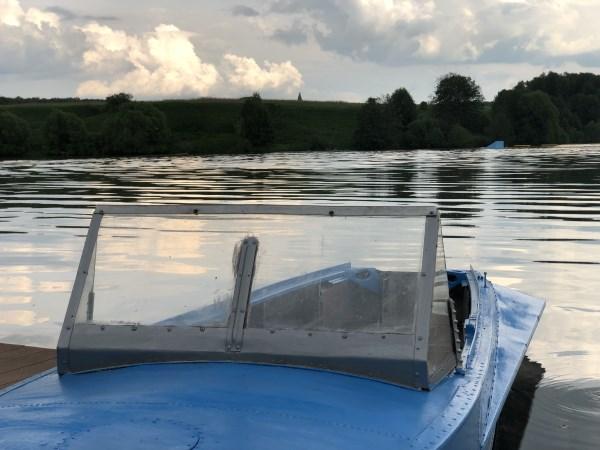 Лодка и небо