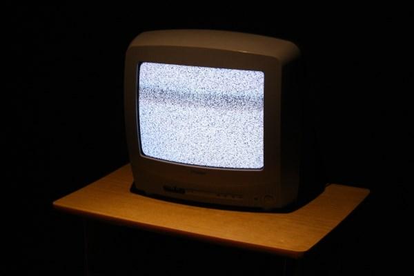 Неработающий телевизор