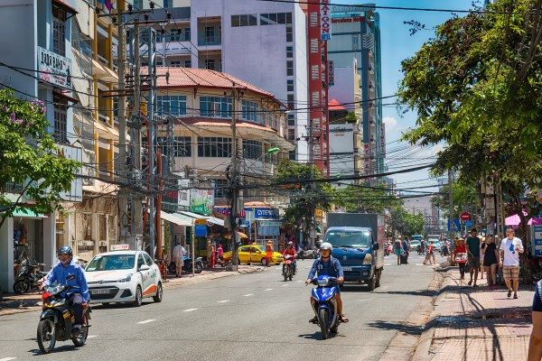 Вьетнамская улица